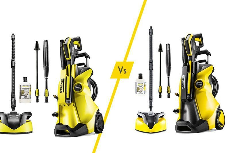 Karcher Pressure Washers K4 Vs K5 What Is The Difference