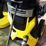 How to use a Karcher Electric Pressure Washer