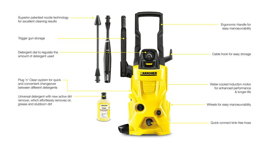 Karcher Pressure Washer Reviews Amp Ratings K2 K4 K5 Amp K7
