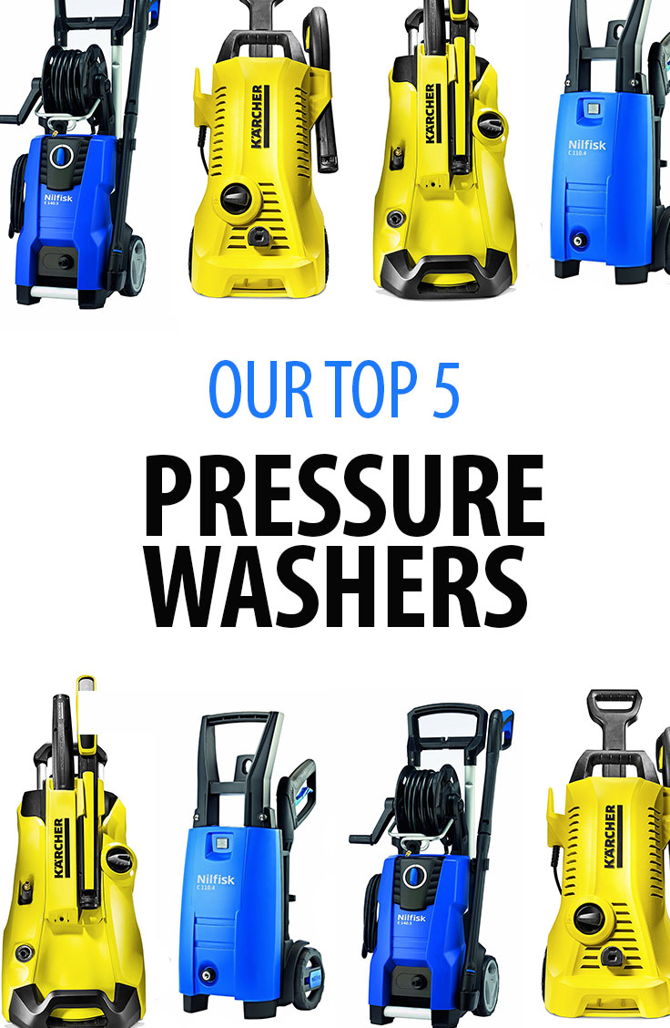 Top 5 electric pressure washers