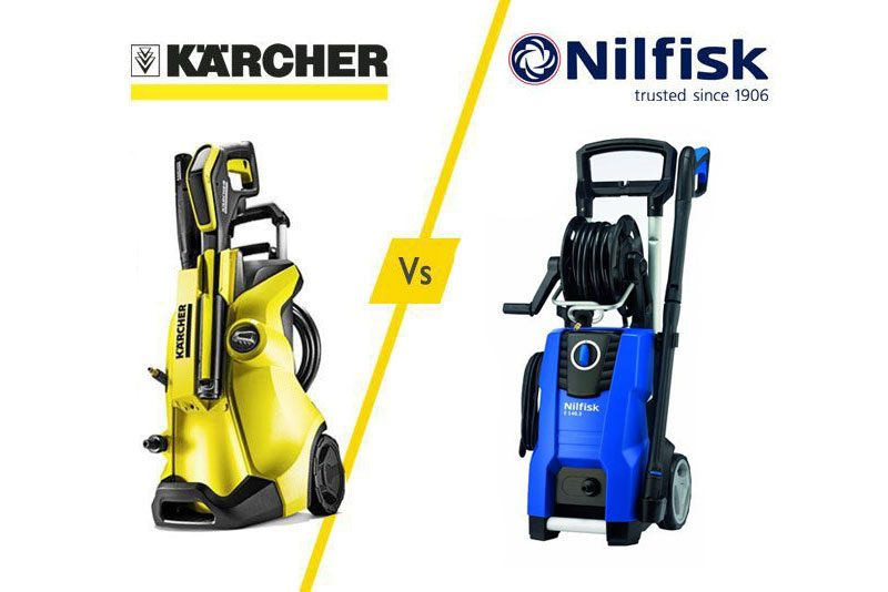 Karcher Vs Nilfisk Pressure Washer - What Rules The Game? - Pressure