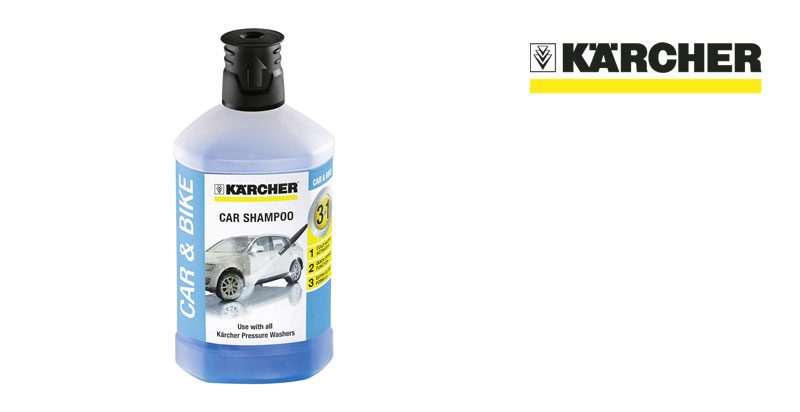 Kärcher 1L, 3-in-1 Car Shampoo Plug and Clean