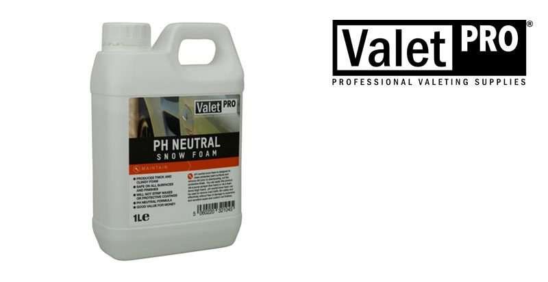 Valet PRO Neutral Snow Foam