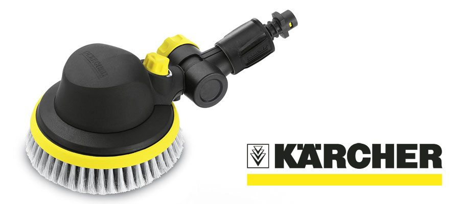 Car Wash Brush >> Best Karcher Pressure Washer Attachments for Car & Patio Cleaning