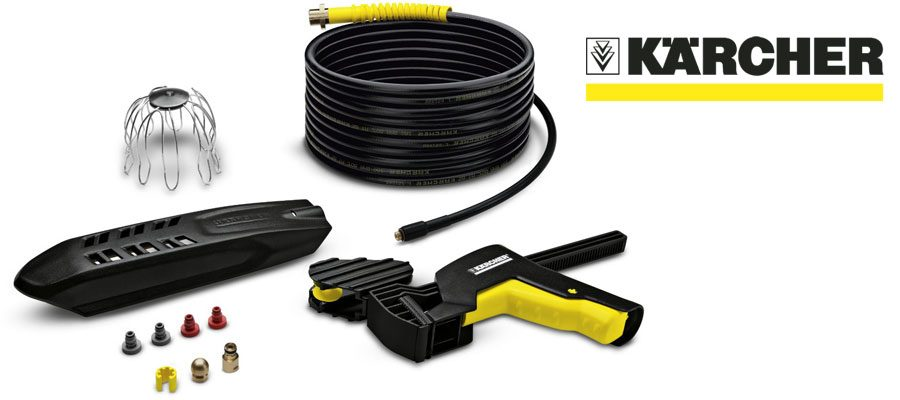 Kärcher 20m Pipe And Guttering Cleaning Kit