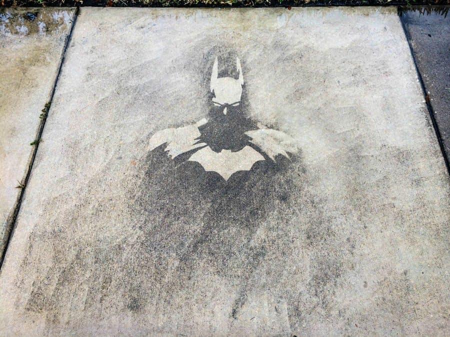 Batman graffiti art