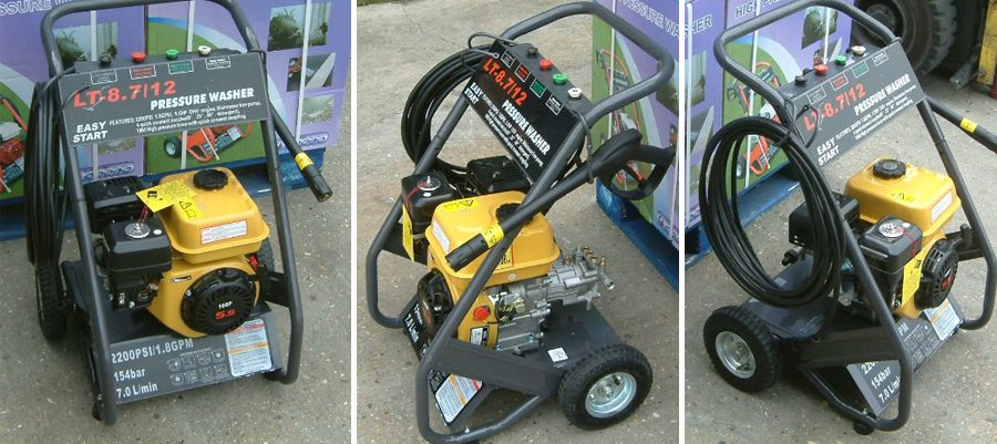 Foxhunter Quality OHV Petrol Pressure Washer Jet Washer