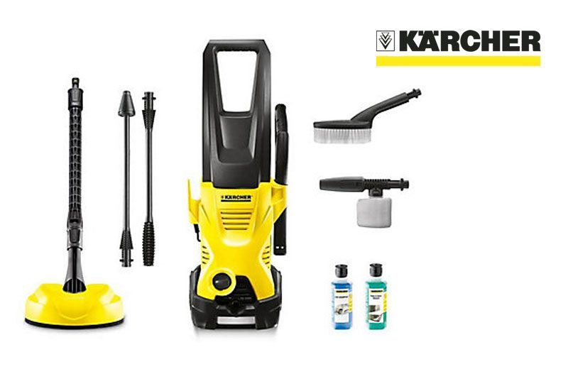 karcher k2 premium home car pressure washer review 4 stars. Black Bedroom Furniture Sets. Home Design Ideas