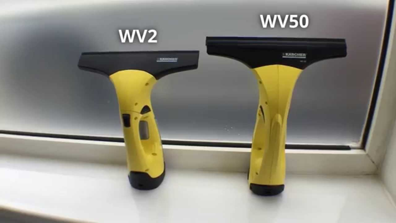 Differences Between the Karcher WV2 & the WV5
