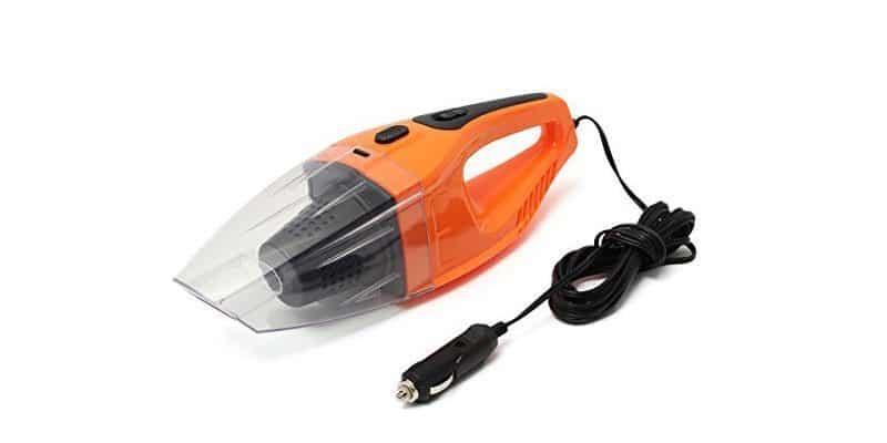 AUDEW Vacuum Cleaner Handheld Wet Dry Portable 12V Car Auto Van Caravan