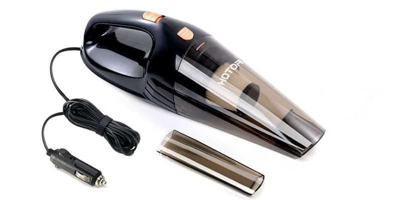 Car Vacuum Cleaner, HOTOR DC12-Volt 106W Auto Vacuum Cleaner