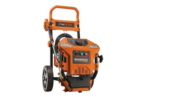Generac 6602 OneWash 3,100 PSI, 2.8 GPM, Gas Powered Pressure Washer